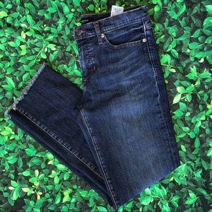 🜃 Banana Republic jeans | 28 | size 6 | frayed